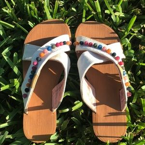 Girls TOMS Viv sandals